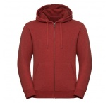 JZ263M.22.0 - 263M•Men`s Authentic Melange Zipped Hood Sweat